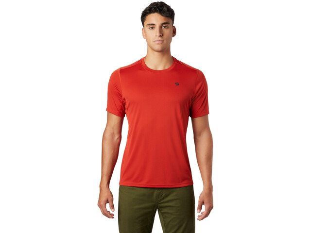 Mountain Hardwear Wicked Tech Camiseta Manga Corta Hombre, desert red